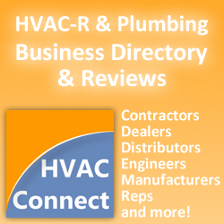 HVAC Contractors, Plumbing Distributors, HVAC-R Manufacturers and more on HVAC-Connect.com